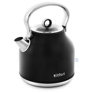 Чайник Kitfort KT-671-2 (черный) - Электрочайник