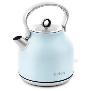 Чайник Kitfort KT-671-3 (голубой) - Электрочайник