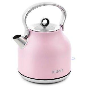 Чайник Kitfort KT-671-4 (розовый) - Электрочайник