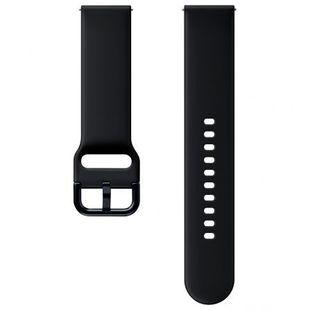 Ремешок для Samsung Galaxy Watch Active (ET-SFR82MBEGRU) (черный) - Ремешок для умных часов