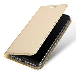 Чехол-книжка для Huawei Honor 20 Lite (Dux Ducis 5399) (золотистый) - Чехол для телефона
