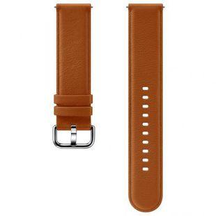 Ремешок для Samsung Galaxy Watch Active, Active 2 (ET-SLR82MAEGRU) (коричневый) - Ремешок для умных часов