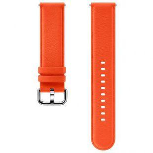 Ремешок для Samsung Galaxy Watch Active, Active 2 (ET-SLR82MOEGRU) (оранжевый) - Ремешок для умных часов