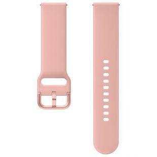 Ремешок для Samsung Galaxy Watch Active, Active 2 (ET-SFR82MPEGRU) (розовый) - Ремешок для умных часов
