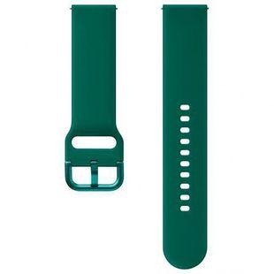 Ремешок для Samsung Galaxy Watch Active, Active 2 (ET-SFR82MGEGRU) (зеленый) - Ремешок для умных часов