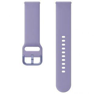 Ремешок для Samsung Galaxy Watch Active, Active 2 (ET-SFR82MVEGRU) (фиолетовый) - Ремешок для умных часов