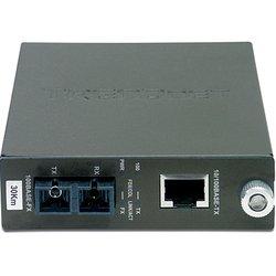 Медиаконвертер TRENDnet TFC-110S30 - Медиаконвертер, трансиверМедиаконвертеры, трансиверы<br>Одномодовый оптоволоконный медиаконвертер с оптическим портом 100Base-FX разъёма SC и одним Ethernet-портом 100Base-TX (30 км/18,6 мили).