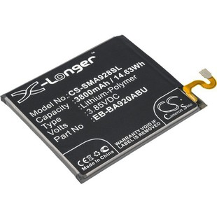 Аккумулятор для Samsung Galaxy A9 2018 (3.85V, 3800mAh) (CameronSino CS-SMA928SL) - Аккумулятор