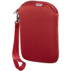 Чехол для внешнего жесткого диска 2.5 (Hama H-95507) (красный) - Чехол для внешнего жесткого дискаЧехлы для внешних жестких дисков<br>Чехол предназначен для жестких дисков размером 2.5 дюйма. Размеры: 8.5 х 2 х 14 см