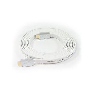 Кабель HDMI 19M-HDMI 19M 1.8м (Aopen ACG568F-S-1.8M) (белый, серебристый) - HDMI кабель, переходник