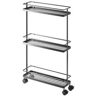 Этажерка Yamazaki Tower Rolling kitchen storage cart