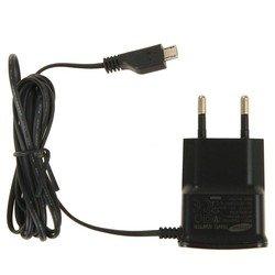 Сетевое зарядное устройство microUSB (Samsung ETA0U10EBECSTD) - Сетевое зарядное устройствоСетевые зарядные устройства<br>Предназначено для зарядки цифровых устройств от сети переменного тока.