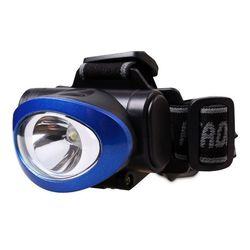 Светодиодный налобный фонарь Smartbuy Yukon 1W (SBF-HL017-B) (синий) - ФонарьФонари<br>Smartbuy Yukon 1W - светодиодный налобный фонарь, 1 светодиод повышенной мощности 1Вт, максимальный световой поток: 50 люмен, освещаемая дистанция: 10 метров, уровни освещения: максимальный и экономичный, режимы работы: 50% от максимальной яркости - 100% яркости - режим мигания, материал корпуса: ударопрочный пластик, ударопрочность: 1,5 м.