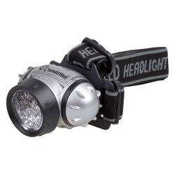 Светодиодный налобный фонарь Smartbuy Yukon 21 LED (SBF-HL006-K) (черный) - ФонарьФонари<br>Smartbuy Yukon 21 LED - светодиодный налобный фонарь, 21 светодиод, максимальный световой поток: 32 люмен, освещаемая дистанция: 10 метров, уровни освещения: Максимальный, оптимальный и экономичный, режимы работы: 1-8-21 светодиодов + режим мигания, материал корпуса: ударопрочный пластик.