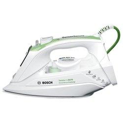 Bosch Sensixxx DA70 ProEnergy TDA702421E (белый, зеленый) - УтюгУтюги<br>Утюг, мощность 2400 Вт, автоматическое отключение, вес 1.88 кг, паровой удар, вертикальное отпаривание.