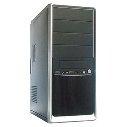 Winard 3010 600W Black/silver - КорпусКорпуса<br>Winard 3010 600W Black/silver - ATX, mATX, Midi-Tower, сталь, блок питания 600 Вт, 2xUSB на лицевой панели, 175x410x380 мм, цвет: черный