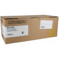 Картридж для Ricoh Aficio SP C220S, SP C221SF, SP C222SF, SP C220N, SP C221N, SP C222DN, SP C240DN, SP C240SF (406055 SP C220E) (желтый) - Картридж для принтера, МФУ