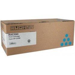 Картридж для Ricoh Aficio SP C220S, SP C221SF, SP C222SF, SP C220N, SP C221N, SP C222DN, SP C240DN, SP C240SF (406053 SP C220E) (голубой) - Картридж для принтера, МФУ