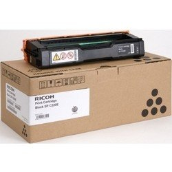Картридж для Ricoh Aficio SP C220S, SP C221SF, SP C222SF, SP C220N, SP C221N, SP C222DN, SP C240DN, SP C240SF (Ricoh 406052 SP C220E) (черный) - Картридж для принтера, МФУ