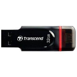 Transcend JetFlash 340 32Gb - USB Flash driveUSB Flash drive<br>Transcend JetFlash 340 32Gb - 32 Гб, USB 2.0/microUSB