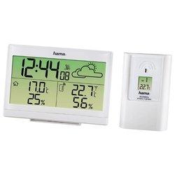 HAMA EWS-890 (H-113986) (белый) - Цифровая метеостанция