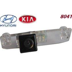 Площадка для камеры на Hyundai Santa Fe, Kia Ceed, Elantra (SKY HY-2 8041) - Камера заднего вида