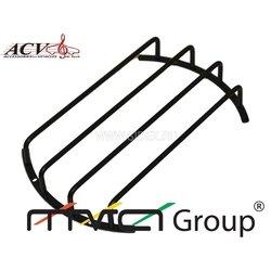 Защитная декоративная решетка ACV GR-M10 (25см, черный) - Гриль, решеткаГрили и решетки<br>Защитная декоративная решетка 10quot;. Защитный гриль, для корпусного сабвуфера, металлический, матовый (черный), 25 см