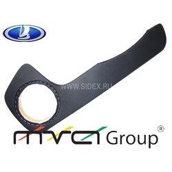 Подиум в двери для ВАЗ 2113, 14, 15 (02-004-01) (черный) - Полка, подиум, корпусПолки, подиумы, корпуса, кольца<br>Подиум предназначен для установки акустики в передние двери автомобиля. Сетка динамика утоплена в подиум. Выполнен из МДФ. Отделка: чёрный винил. Комплект: два подиума на передние двери