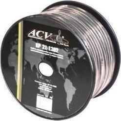 Акустический кабель 18AWG, 100м (ACV KP21-1003) - Кабель, разъем для акустической системыКабели и разъемы для акустических систем<br>Акустический кабель (18 AWG): Материал - омедненный алюминий, в прочной и гибкой изоляции. Изготовлен по технологии quot;витая параquot;. Диапазон рабочих температур: -40 ~ +65град. Кабель имеет истинные размеры. Сечение - 18AWG, бухта - 100 м