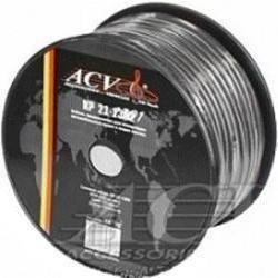 Силовой кабель 8AWG, 50m (ACV KP21-1303) (черный) - Кабель, разъем для акустической системыКабели и разъемы для акустических систем<br>ACV KP21-1303 - это силовой кабель для различной электроники вашего автомобиля. Данная модель выполнена из качественных материалов, что обеспечивает долгий срок службы. Длина кабеля составляет 50 м.