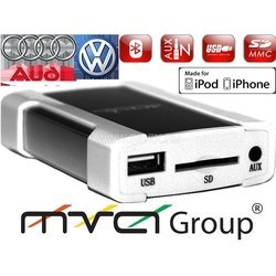 ACV CH46-1019 VW 12-pin(2008NEW) iPOD, iPHONE, USB, SD, AUX цифр.чейнджер N-disk