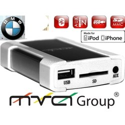 ACV CH46-1024 BMW 17pin (01-05) iPhone, iPOD, USB, SD, AUX цифр.чейнджер N-disk