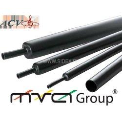 Термоусадка 2.5-1.2мм,5м (ACV RM37-1901) (черная) - Расходный материал