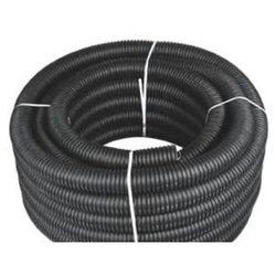 Тюбинг 11 мм, 50 м (ACV RM37-1207) - Расходный материалРасходные материалы<br>Тюбинг - D=(11.0мм) для укладки проводки, разрезной, гофрированный. Внутренний диаметр - 11 мм. Материал - масло/бензоустойчивый полиэтилен, стойкий к гниению, высокопрочный и эластичный. Пожаростойкость VO по классу UL. Цвет - черный. В бухте - 50 м