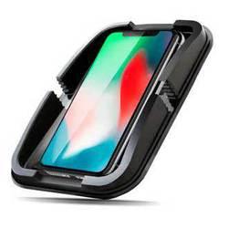 Противоскользящий коврик Ginzzu GH-105B - ПодставкаПодставки для мобильных устройств<br>Для смартфонов, телефонов и мелких предметов (ключи, зажигалки, ручки и пр. Без клея и магнита.
