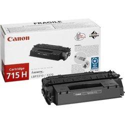Тонер картридж для Canon i-SENSYS LBP3310, LBP3370 (1976B002 715H) (черный) - Картридж для принтера, МФУКартриджи<br>Совместим с моделями: Canon i-SENSYS LBP3310, LBP3370.