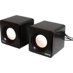 Колонки Dialog Colibri AC-04UP (черный-красный) - Колонка для компьютераКомпьютерная акустика<br>Dialog Colibri AC-04UP - акустические колонки 2.0, частотный диапазон 200-20000 Гц, суммарная выходная мощность 6 Вт, питание USB.