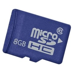 HP Enterprise Mainstream microSDHC Class 10 8GB - Карта флэш-памяти
