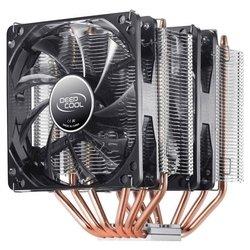 Deepcool NEPTWIN V2 RTL - Кулер, охлаждениеКулеры и системы охлаждения<br>Для процессора, socket AM2, AM2+, AM3/AM3+/FM1, FM2/FM2+, S775, S1150/S1155/S1156, S1356/S1366, S2011, 2 вентилятора (120 мм, 900-1500 об/мин), радиатор: алюминий+медь, 30 дБ.