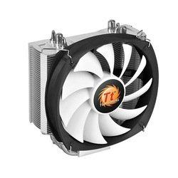 Кулер Thermaltake Frio Silent 12 (CL-P001-AL12BL-B) - Кулер, охлаждениеКулеры и системы охлаждения<br>Thermaltake Frio Silent 12 - кулер для процессора, совместимость Intel: LGA 2011/1366/1155/1156/1150/775, AMD: FM2/FM1/AM3+/AM3/AM2+/AM2, 1 вентилятор 120 мм, скорость 500-1400 об/мин, радиатор из алюминия и меди, уровень шума 12-19.2 дБ.