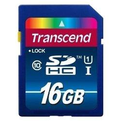 Transcend TS16GSDU1 - Карта флэш-памяти