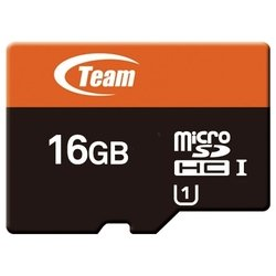 team group xtreem micro sdhc uhs-1 16gb + sd adapter