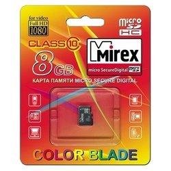 Mirex microSDHC Class 10 8GB - Карта флэш-памяти