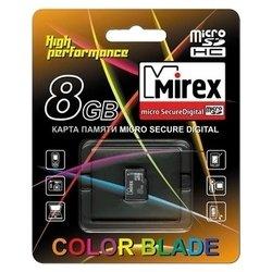 Карта памяти Mirex microSDHC Class 4 8GB - Карта флэш-памяти