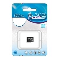 SmartBuy microSDHC Class 10 4GB (без адаптера) - Карта флэш-памяти
