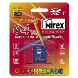 Mirex SDXC Class 10 UHS-1 64GB - Карта флэш-памяти