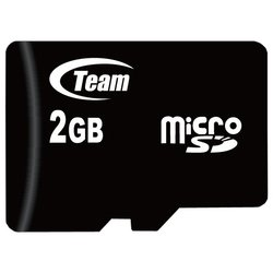 team group micro sd 2gb + sd adapter