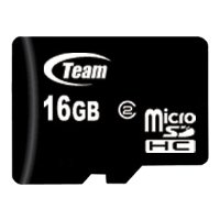 team group micro sdhc card class 2 16gb + 2 adapters