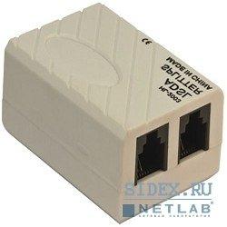 Сплиттер ADSL AG-ka63 (Annex A) (VCOM VTE7703) - Кабель, переходникКабели, шлейфы<br>Выполнен из высококачественных материалов и имеет долгий срок службы.