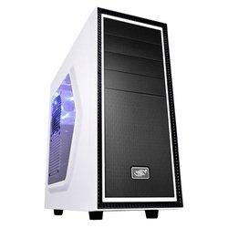 Deepcool Tesseract SW White - КорпусКорпуса<br>Deepcool Tesseract SW White - ATX, mATX, Mini-ITX, Midi-Tower, сталь, без блока питания, 2xUSB на лицевой панели, 192x430x436 мм, 5.1 кг, цвет: белый